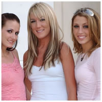 Haley Young, Tiffany, And Kimberly Wood