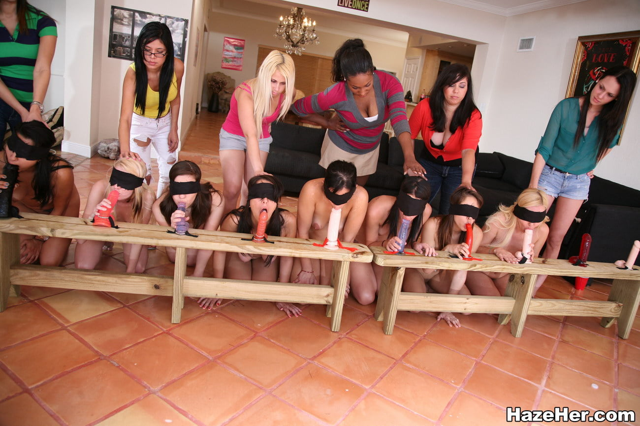 hazing sorority dildo colleg