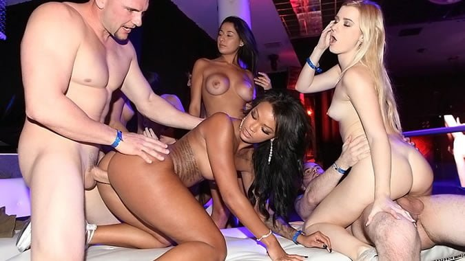 Harley Dean VIP Room Group Sex in da Club